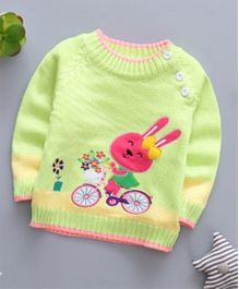 Pre Order - Tickles 4 U Bunny Sweater - Green