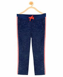 Cherry Crumble California Cotton Blend Icon Sweat Pants - Blue
