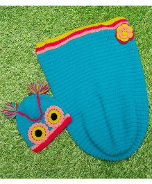 D'chica Pure Wool Adorable Sleep Sack - Multicolor