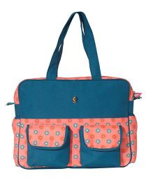 Vouch Baby Diaper Bag - Blue and Pink