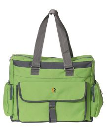 Vouch Bria Travel Duffle Multipocket Baby Diaper Bag - Green