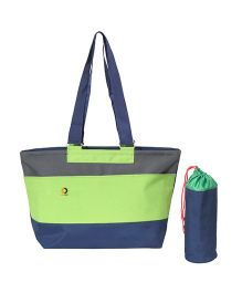 Vouch Leah Tote baby Diaper Bag - Green