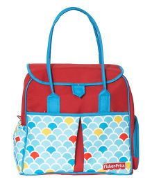 Fisher Price Baguette Baby Diaper Bag - Red