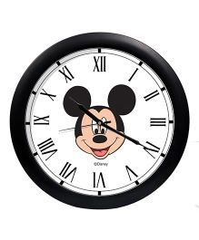 Orka Mickey Mouse Printed Analog Wall Clock - Black White