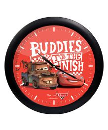 Orka Pixar Buddies Printed Analog Wall Clock - Red Black