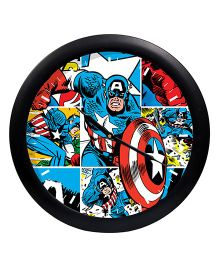 Orka Marvel Captain America Analog Wall Clock - Red Blue
