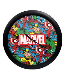 Orka Marvel Characters Printed Analog Wall Clock - Multi Colour