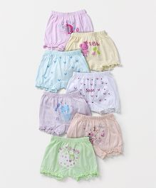 Simply Bloomers Printed Pack of 7 - Multicolor
