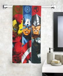 Marvel Captain America Bath Towel - Multicolor