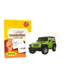 Krazy Transport Mini Flash Cards - 24 Cards