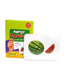 Krazy Fruits Mini Flash Cards - 24 Cards