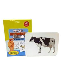 Krazy Domestic Animals Mini Flash Cards - 24 Cards