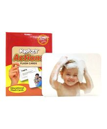Krazy Actions Mini Flash Cards - 24 Cards