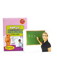 Krazy Community Helpers Mini Flash Cards - 24 Cards