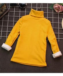 Pre Order - Awabox High Neck Warm Top - Yellow