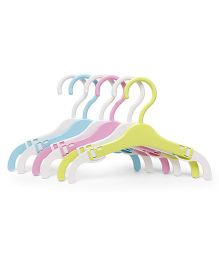 Cloth Hangers Set Of 6 - Multi Colour