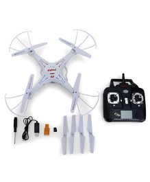 Toyhouse Drone with HD Camera - White & Black