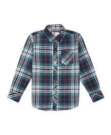 Flying Machine Full Sleeve Checks Shirt - Blue