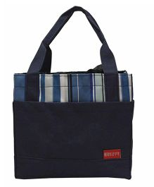 Ez Life Stripes Lunch Bag - Navy