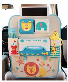 Ez Life Lion King Car Seat Organizer - Multicolour