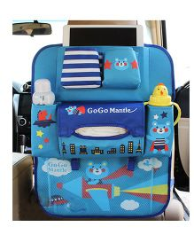 Ez Life Blue Jet Car Seat Organizer - Multicolour