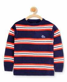 Cherry Crumble California Standard Soft Sweater - Blue