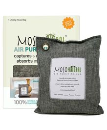 Moso Natural Air Purifying Bag Charcoal Color - Covers upto 250 Sq Ft