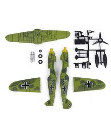Model Vintage Fighter Planes BF 109 - Yellow