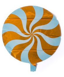 ShopAParty Lollipop Foil Balloons - Orange