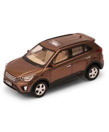 Centy Pull Back Action Fortuner Off Roader SUV Model Car - Dark Brown