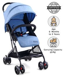 Babyhug Easy Travel Stroller - Blue