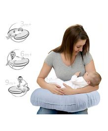 Lulamom Allergen Protected Soft Feeding Pillow - Blue