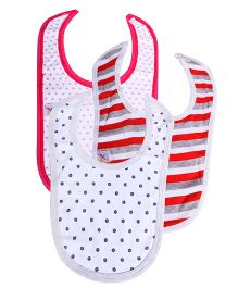 Colorfly Printed Bibs Pack Of 3 - Multicolor