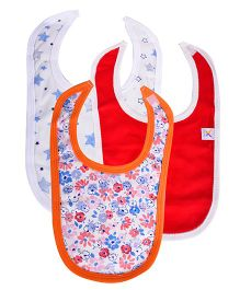 Colorfly Multi Print Bibs Pack Of 3 - Multicolor