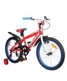 Brooks Rally Sport 20 Tricycle With Training Wheels - Red