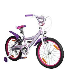 Brooks Alexis Tricycle With Trainer Wheel Purple - 20 inch