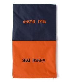 Funkrafts Wear Me Wash Me Undergarment Organizer - Orange & Navy Blue