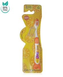 Buddsbuddy Chocita Design Tooth Brush - Orange