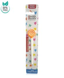 Buddsbuddy Kids Tongue Cleaner - Orange
