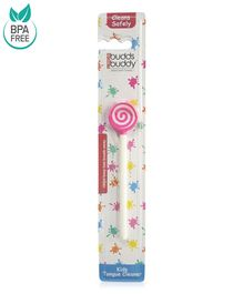 Buddsbuddy Kids Tongue Cleaner - Pink