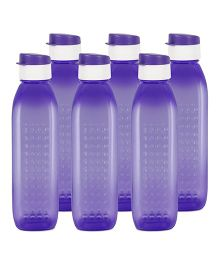 G-Pet Sipper Water Bottles Pack of 6 Orchid Purple - 1000 ml