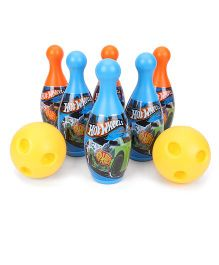 Hotwheels Bowling Set 8 Pieces (Color May Vary)