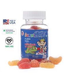 Gummiking Multi Vitamin & Mineral Gummy For Active Kids - 30 Gummies (Assorted)