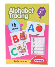 Frank Alphabet Tracing Game - Multi Color