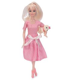 Smile Creations Fashionista Doll Set Pink - Height 29 cm