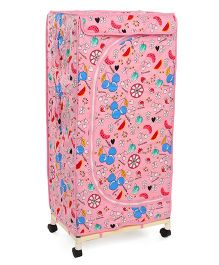 New Natraj Toys Storage Unit Multi Print - Pink
