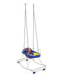 New Natraj 3 In 1 Walker - Blue