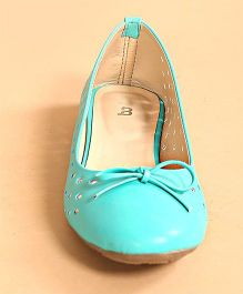 BonOrganik Cute Ballerinas For Mom - Teal Green