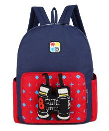Abracadabra Kids Backpack Binocular 3D Toy Blue Red - Height 11 inches