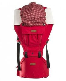 Abracadabra Baby Carrier Bag with Hip Support - Red